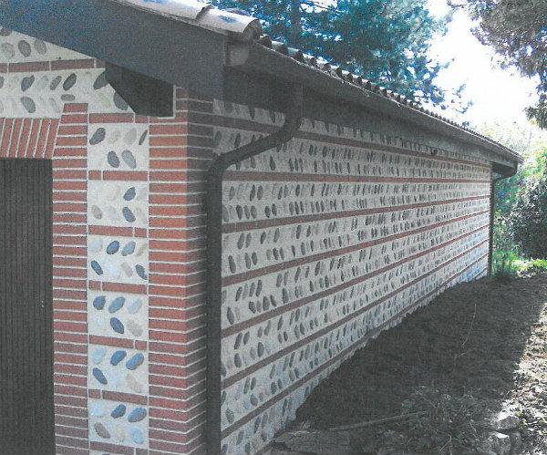Mur De Galet Exterieur Trendy Parement Mur Pierre Naturelle Xcm