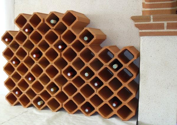 Exemple de r alisations produits terre cuite toulouse 31 briquetterie capelle - Range bouteille brique ...